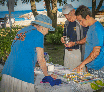 Marine Heritage Festival Cardboard Boat Race July 2016