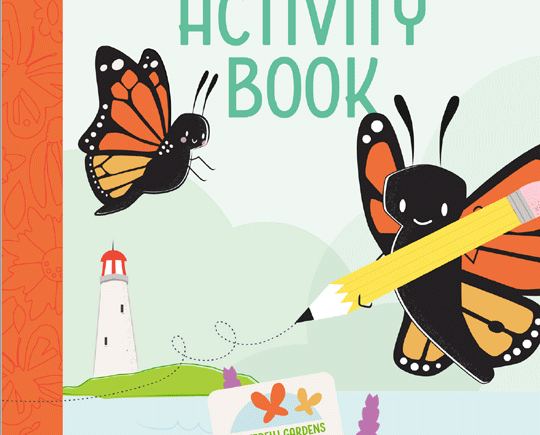 Front cover of The Caterpillar Corner Activity book