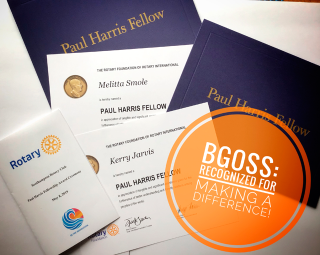 Image of the  Paul Harris Fellowship Awards